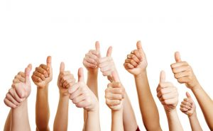 Thumbs up from our customers for our removalists service