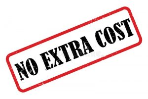 No extra cost for anything comes under our removalists service