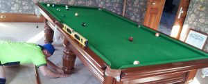 moving pool table