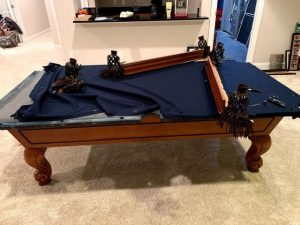 detached pool table