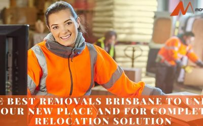 Hire Best Removals Brisbane To Unpack Your New Place And For Complete Relocation Solution