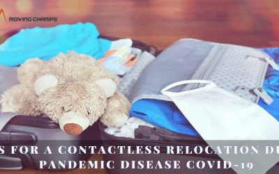 Tips for a Contactless relocation during Pandemic disease Covid-19